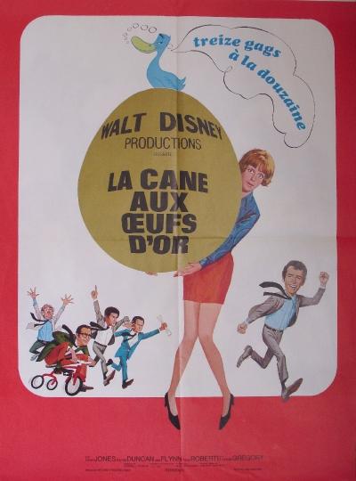 L'affiche de La cane aux œufs d'or