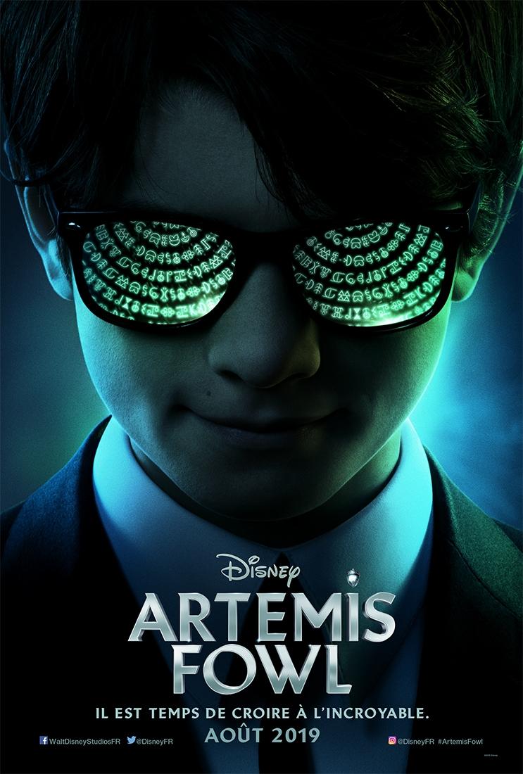 L'affiche de Artemis Fowl