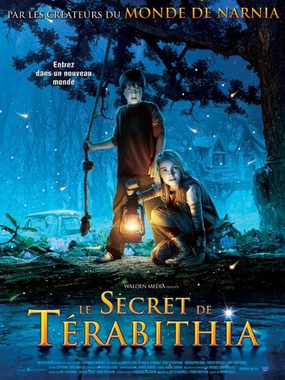 L'affiche de Le Secret de Térabithia
