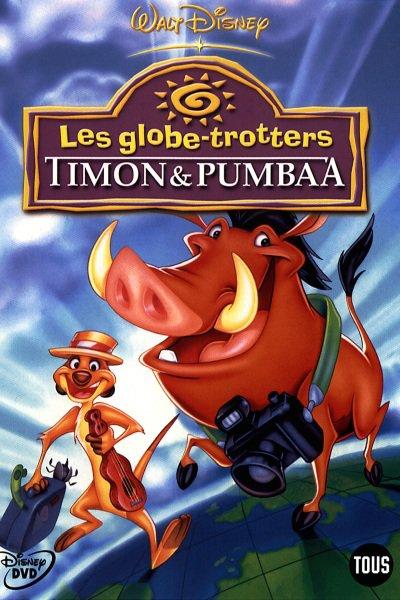 L'affiche de Timon et Pumbaa - Les globe-trotters
