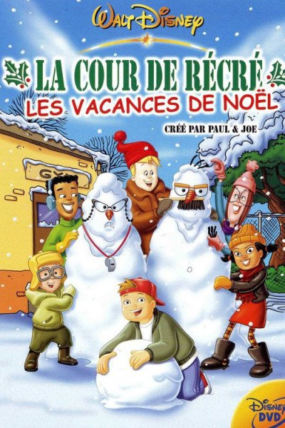 L'affiche de La Cour de récré - Les vacances de Noël