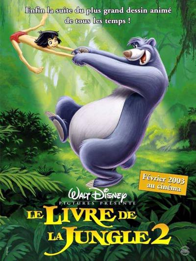 L'affiche de Le Livre de la jungle 2