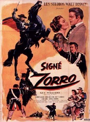 L'affiche de Signé Zorro