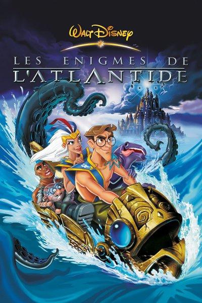 L'affiche de Les Énigmes de l'Atlantide