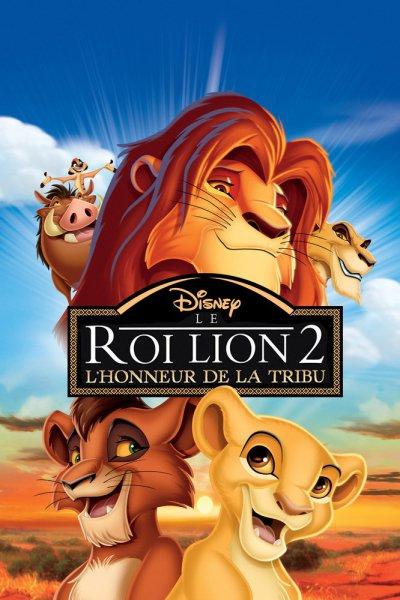 L'affiche de Le Roi Lion 2: l'honneur de la tribu