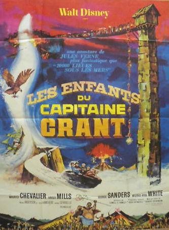 L'affiche de Les Enfants du capitaine Grant