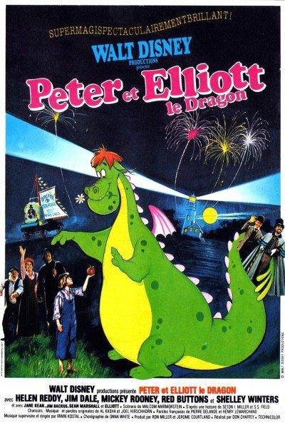 L'affiche de Peter et Elliott le dragon