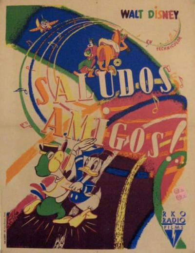 L'affiche de Saludos Amigos