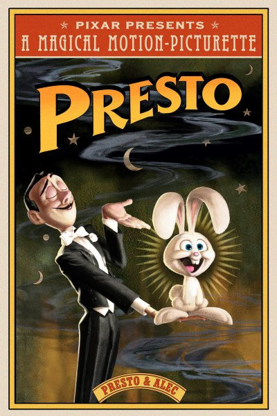 L'affiche de Presto