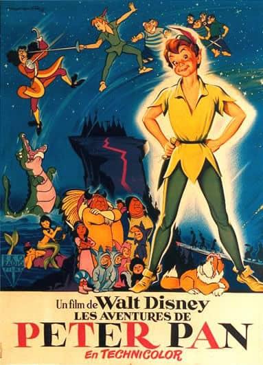 L'affiche de Peter Pan