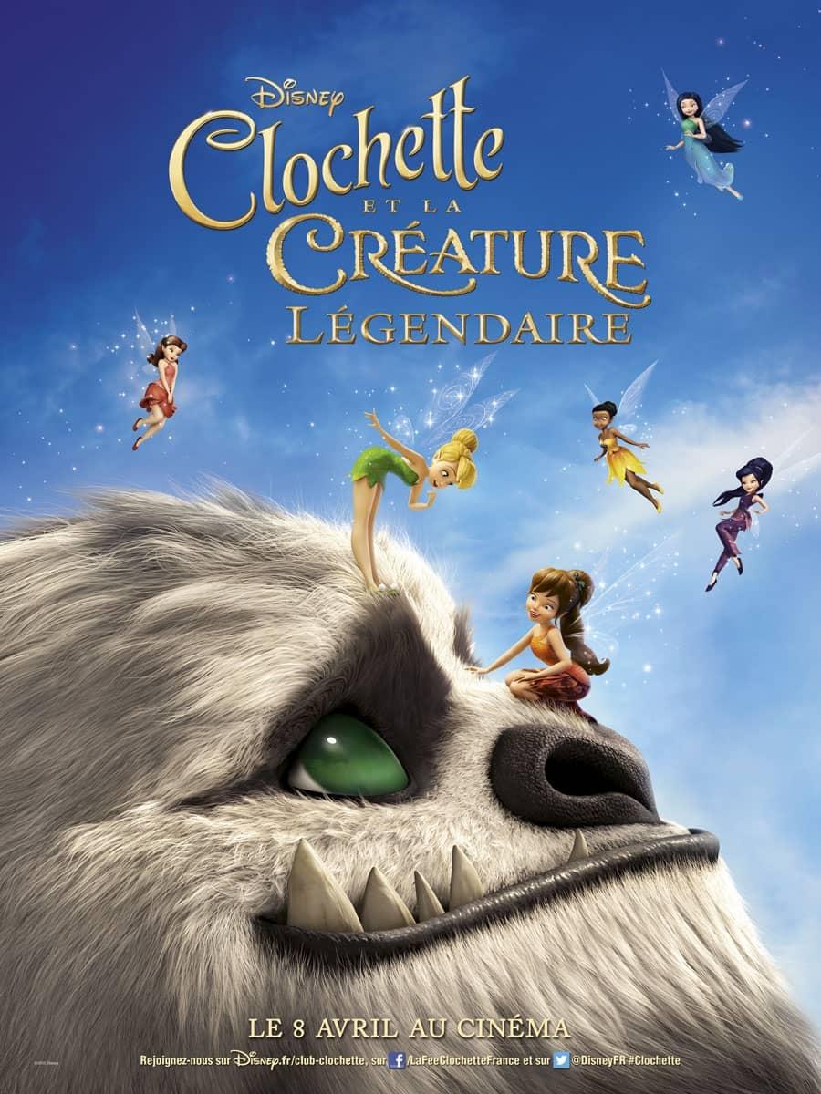 L'affiche de Clochette et la Créature Légendaire