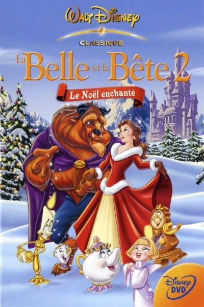 L'affiche de La Belle et la Bête 2: le Noël enchanté