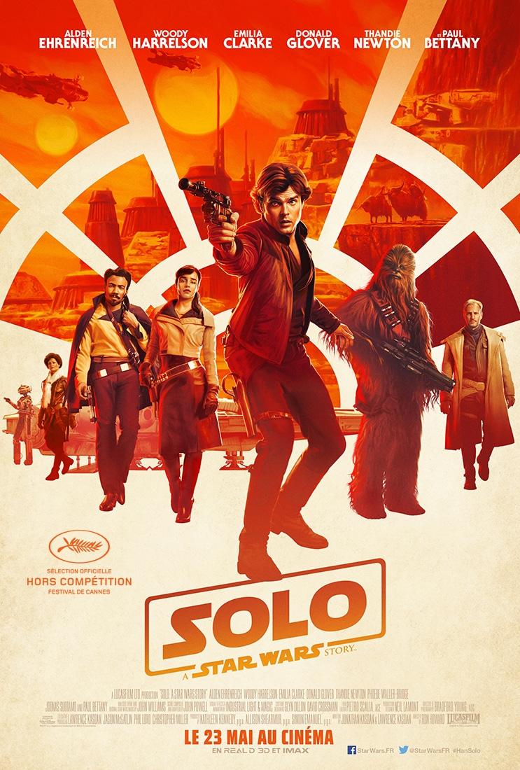 L'affiche de Solo: A Star Wars Story
