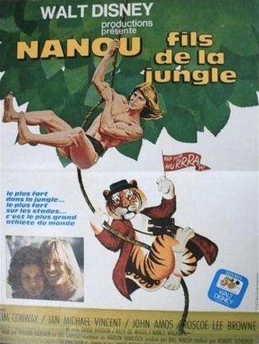 L'affiche de Nanou, fils de la jungle