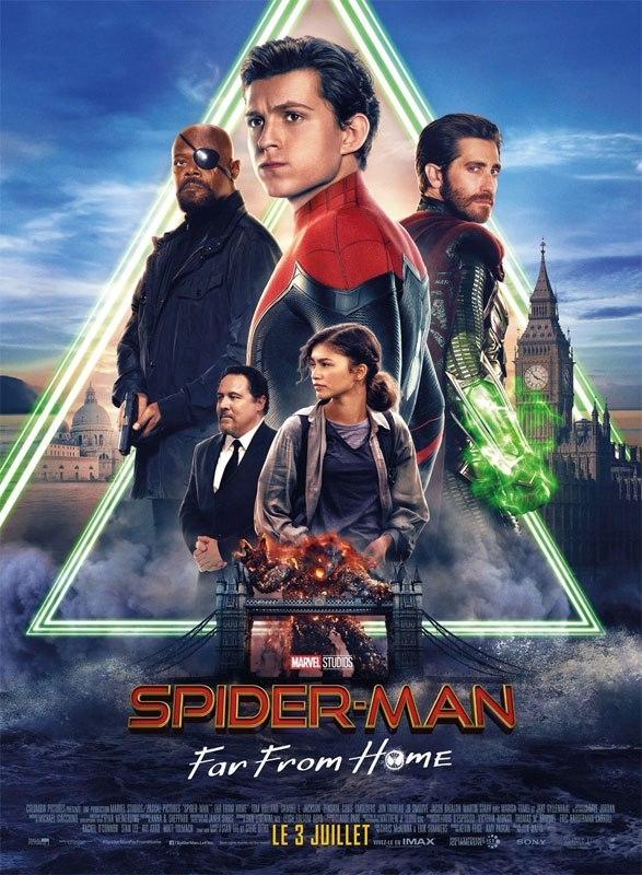 L'affiche de Spider-Man: Far From Home