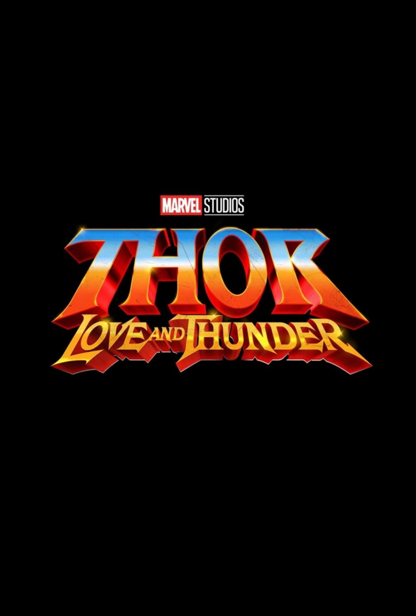 L'affiche de Thor: Love and Thunder