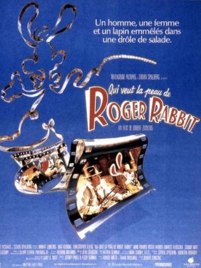 L'affiche de Qui veut la peau de Roger Rabbit?