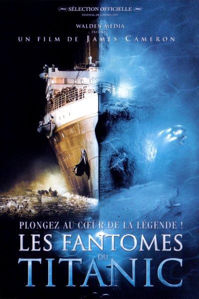 L'affiche de Les Fantômes Du Titanic