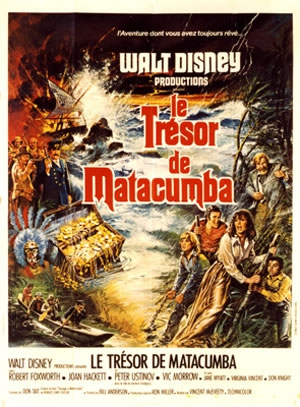 L'affiche de Le Trésor de Matacumba
