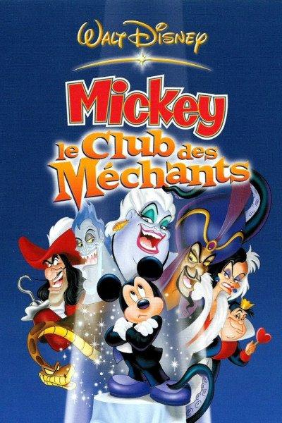L'affiche de Mickey - Le club des méchants