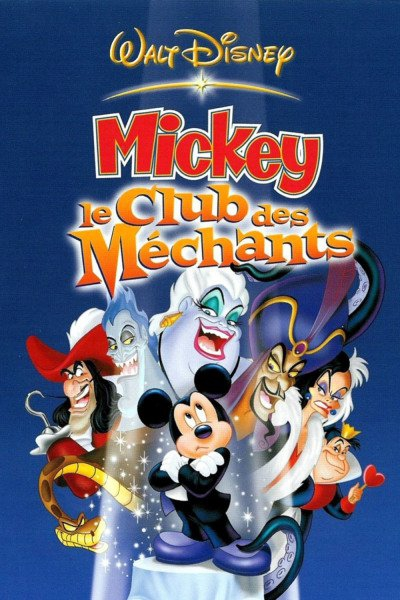 L'affiche de Mickey - Le club des méchants
