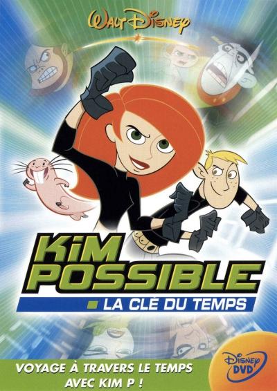 L'affiche de Kim Possible - La clé du temps