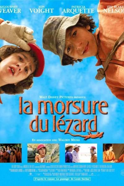 L'affiche de La Morsure du lézard