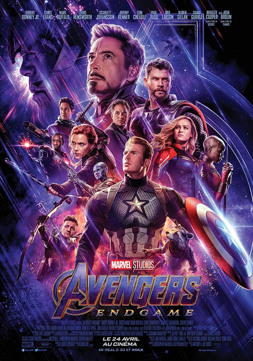 L'affiche de Avengers: Endgame