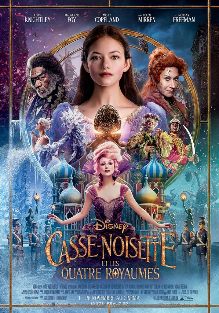 L'affiche de Casse-Noisette et les Quatre Royaumes