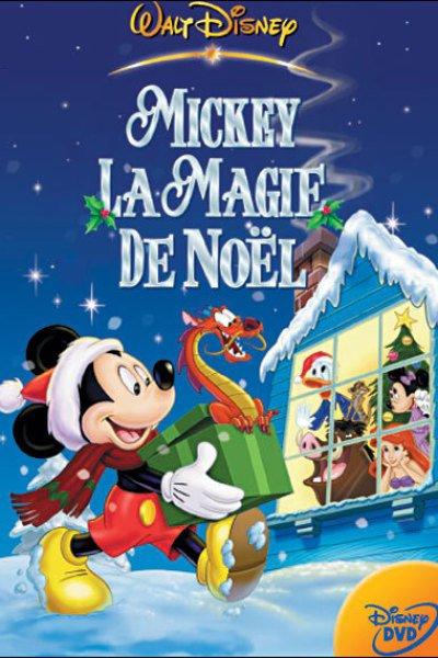 L'affiche de Mickey, la magie de Noël