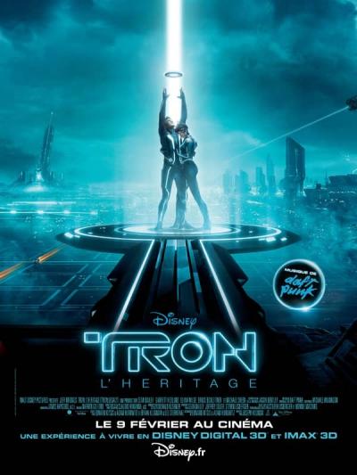 L'affiche de Tron: L'héritage