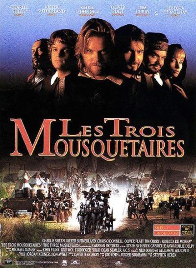 L'affiche de Les Trois Mousquetaires