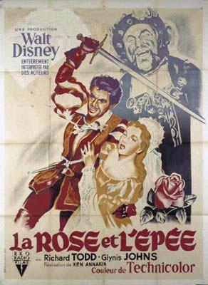 L'affiche de La Rose et l'Épée