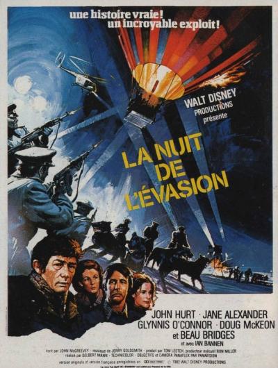 L'affiche de La nuit de l'évasion