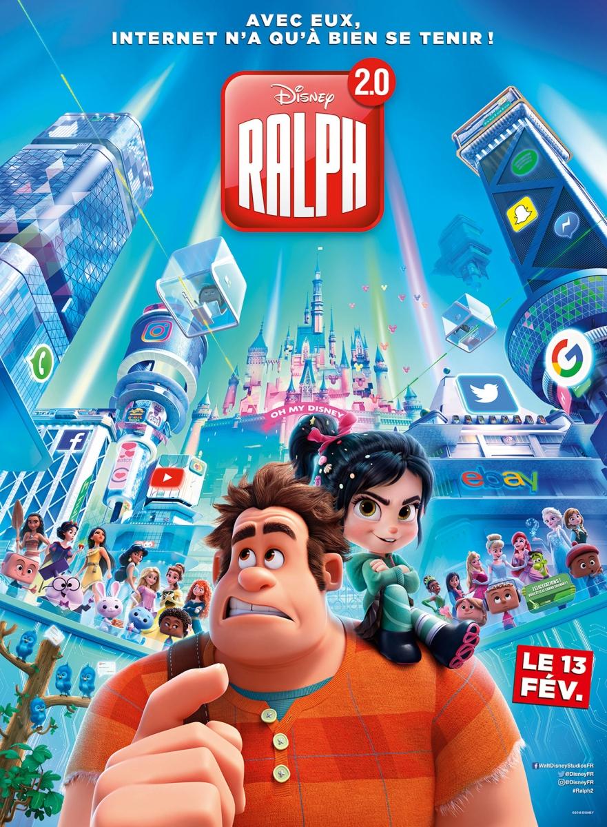 L'affiche de Ralph 2.0