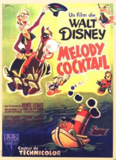 L'affiche de Mélodie cocktail