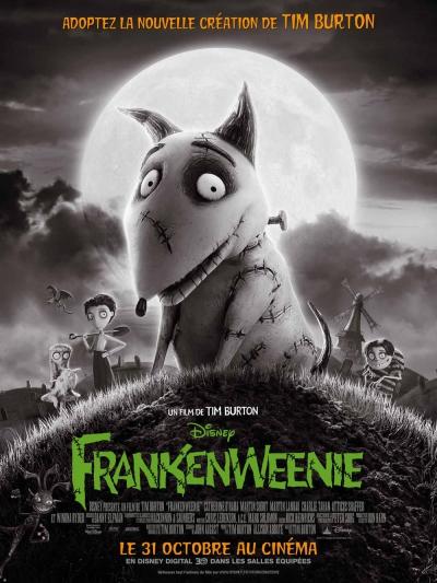 L'affiche de Frankenweenie
