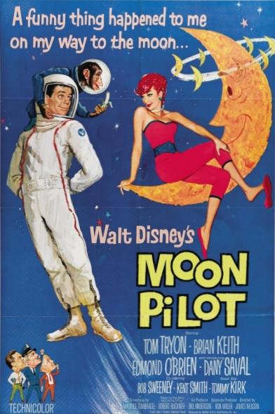 L'affiche de Un pilote dans la Lune