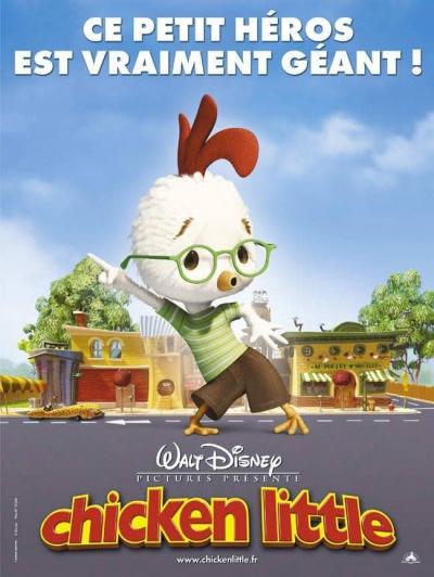 L'affiche de Chicken Little