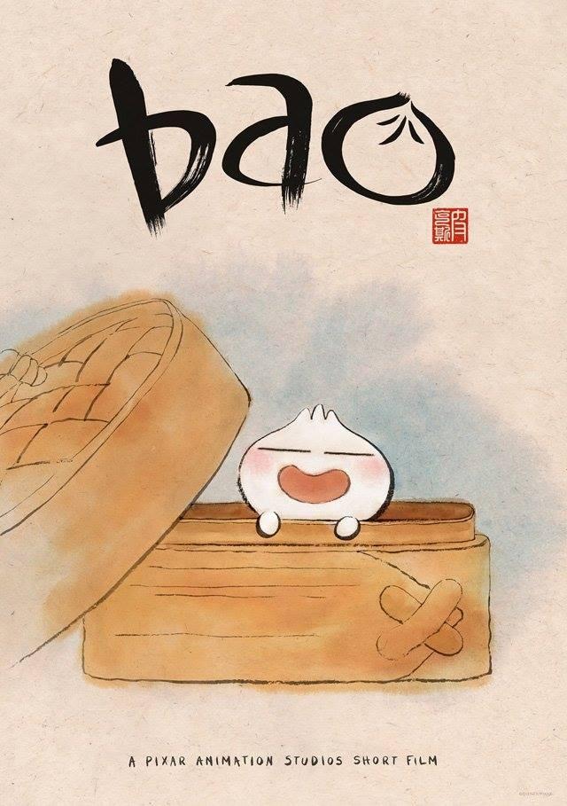 L'affiche de Bao