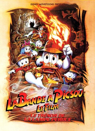 L'affiche de La Bande à Picsou: Le film - Le trésor de la lampe perdue