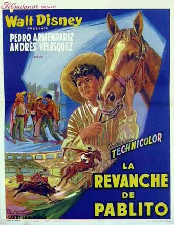 L'affiche de La revanche de Pablito