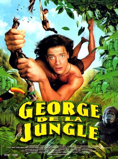 L'affiche de George de la jungle