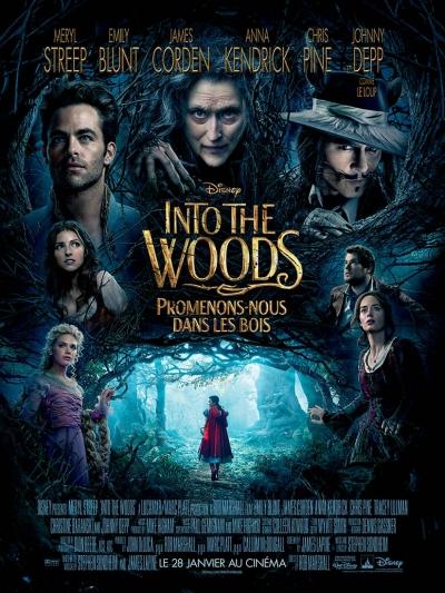 L'affiche de Into The Woods, promenons-nous dans les bois
