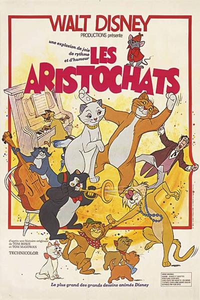 L'affiche de Les Aristochats