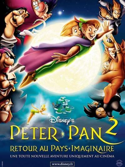 L'affiche de Peter Pan 2: retour au Pays Imaginaire